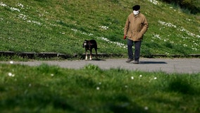 Italian region sets 650 foot limit on dog walking in effort to control coronavirus