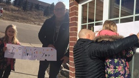 Minnesota family finds special way to visit grandma during COVID-19 lockdown