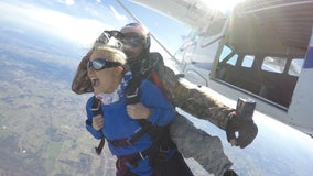 'Take a leap of faith with me': Houston woman proposes on Leap Day during sky dive