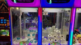 Amid coronavirus shortages, arcade stocks claw machines with soap, toilet paper, hand sanitizer