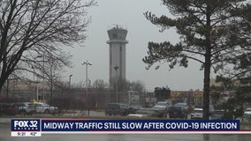 Midway operations remain limited after control tower technicians test positive for coronavirus