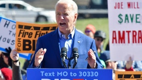 Biden confronts protesters that wife, Jill, blocked on stage