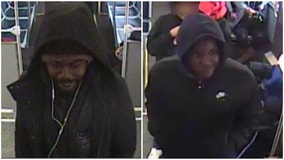 Police seeking to identify 2 men wanted for firing shots on Red Line train in Chatham