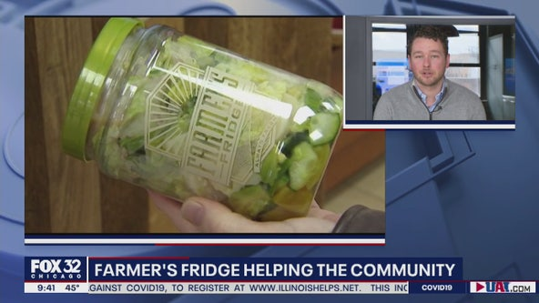 Farmer's Fridge giving back during desperate time of need