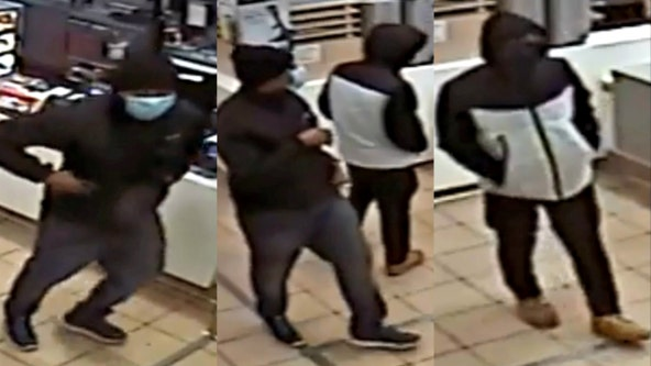 Zion McDonald's robbed by masked gunmen: police