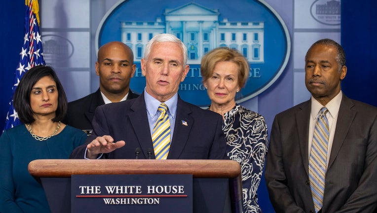 White House Continues To Respond To Coronavirus Epidemic