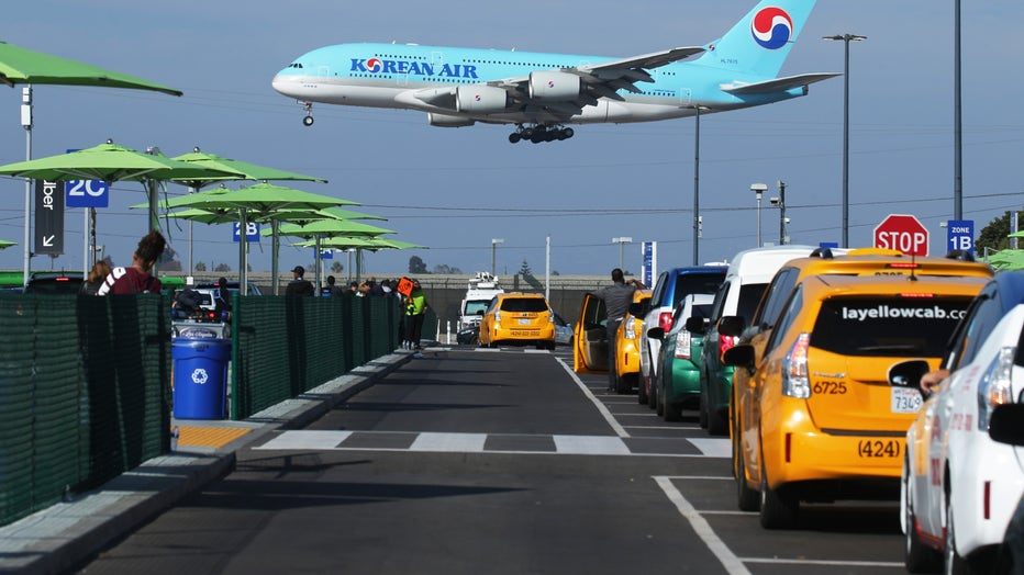New Ride App Pick Up Lot At LAX Results In Long Delays In Passenger Pickups From Airport