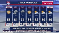 10 p.m. forecast for Chicagoland on April 4