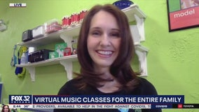 Virtual music classes for the entire family
