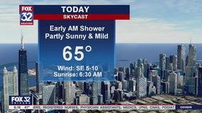 Morning forecast for Chicagoland on April 3rd