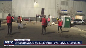 Chicago Amazon workers refusing to go to work due to COVID-19 concerns