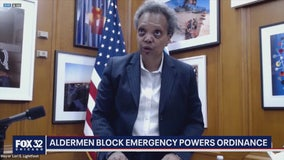 Chicago aldermen block ordinance granting Mayor Lightfoot emergency powers amid pandemic