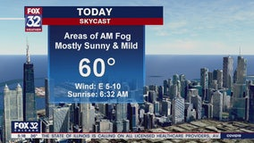 Morning forecast for Chicagoland on April 2nd