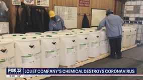 Joliet company remains busy developing chemical that destroys coronavirus