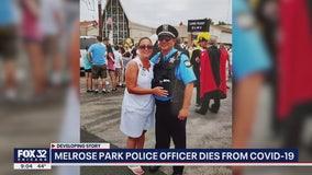 Melrose Park police officer dies of COVID-19