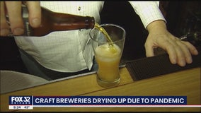 Chicago's craft breweries drying up due to COVID-19 pandemic