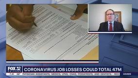 Job losses due to coronavirus could climb to 47 million