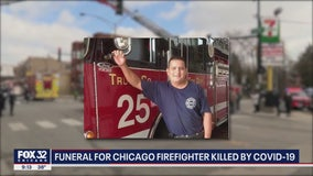 First Chicago firefighter to die of COVID-19 laid to rest Monday