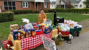 NJ boy commended for asking for food donations instead of birthday gifts