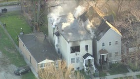 Fire rips through Englewood home, displacing 5
