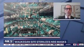 Waukegan site specializes in sterilizing N95 masks