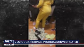 Police issuing citations after large gatherings held in Chicago; one party involved a stripper