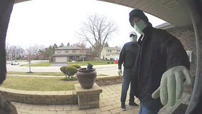 Police release video of deadly home invasion in Chicago area involving masked men