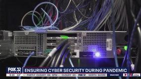 Ensuring cybersecurity during virus pandemic