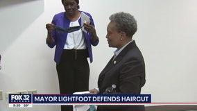 Mayor Lightfoot defends haircut during COVID-19 crisis