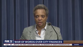 Lightfoot, Vallas trade war of words over city finances