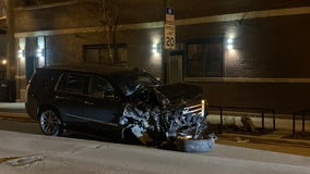Driver charged with DUI after crashing into 7 parked vehicles in Logan Square