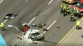 2 dead in Tri-State Tollway crash at Half Day Road
