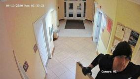 Church burglar caught on video near Lombard: sheriff