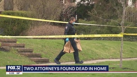 Husband and wife attorneys found in Oak Park home stabbed to death: autopsy