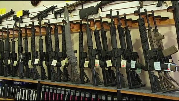 Gun sales surge 85 percent