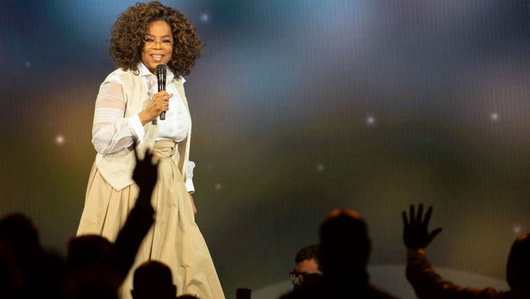 Oprah Winfrey speaks during Oprah's 2020 Vision: Your Life in Focus Tour presented by WW (Weight Watchers Reimagined) at Pepsi Center on March 07, 2020 in Denver, Colorado.