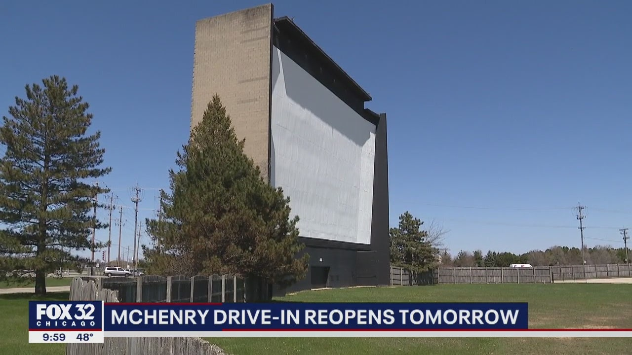 Illinois drive-in movie theater reopens Friday