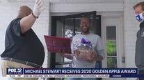 Michael Stewart on what it was like winning a 2020 Golden Apple award
