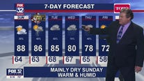 10 p.m. forecast for Chicagoland on May 23