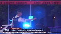 5-year-old girl and 2 teens wounded in drive-by shooting