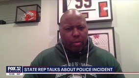 Illinois state lawmaker believes he was racially profiled by Chicago police
