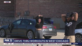 West Chicago gym offers drive-thru workouts during pandemic