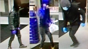 Armed suspects sought in Wheaton gas station robbery: police