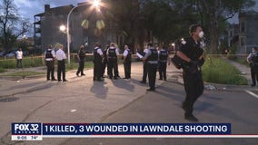 1 killed, 3 wounded in Lawndale shooting