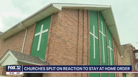 Chicago churches split on obeying stay-at-home order