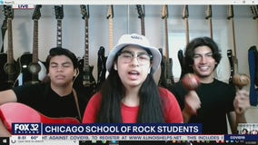 Chicago School of Rock students keep the beat alive during COVID-19