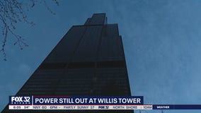 Willis Tower enters Day 3 of power outage