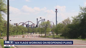 Six Flags Great America in Gurnee hopes Pritzker approves their safety plan to reopen