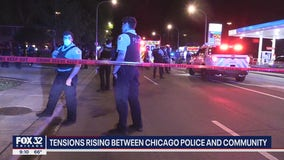 Tensions rising between Chicago police and community following death of George Floyd
