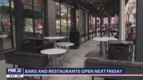 Illinois restaurants and bars can reopen earlier with outdoor seating, Pritzker says
